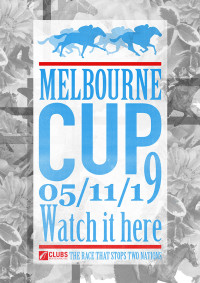 Melbourne Cup Poster 2019