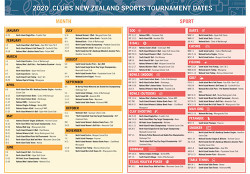 Sports calender 2020indd